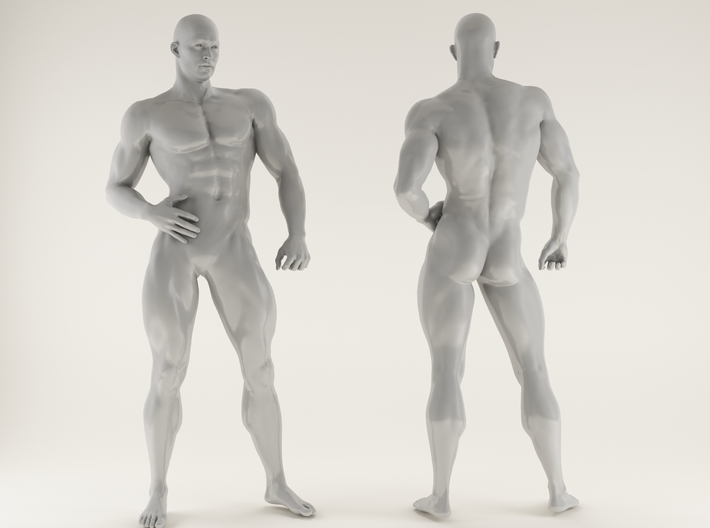 Strong Man scale 1/24 2016028 3d printed