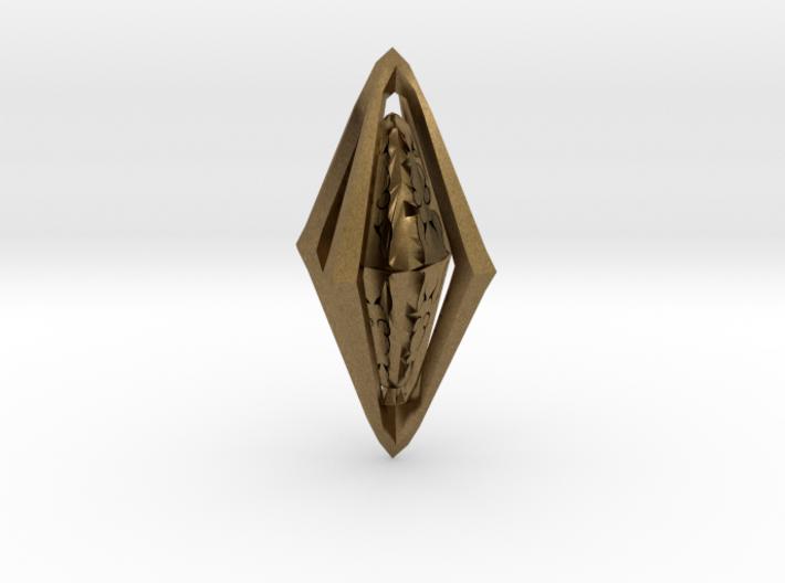 Rune Diamond 3d printed