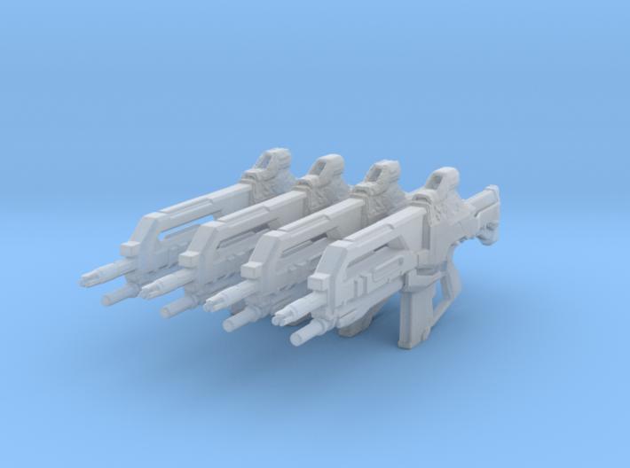 Vindicator XI (1:24 Scale) 3d printed