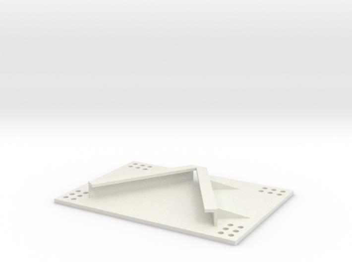 Gerätehalter 1/16 3d printed