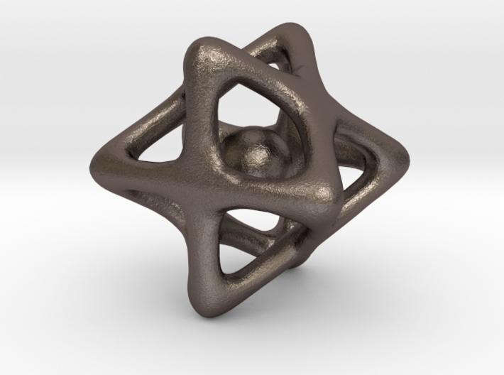 PyraStar pendant with Captive Ball 3d printed