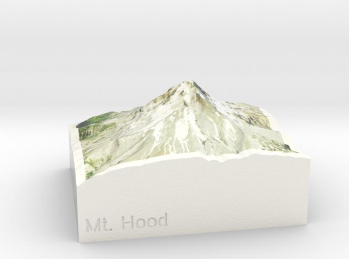 Mt. Hood, Oregon, USA, 1:250000 Explorer 3d printed