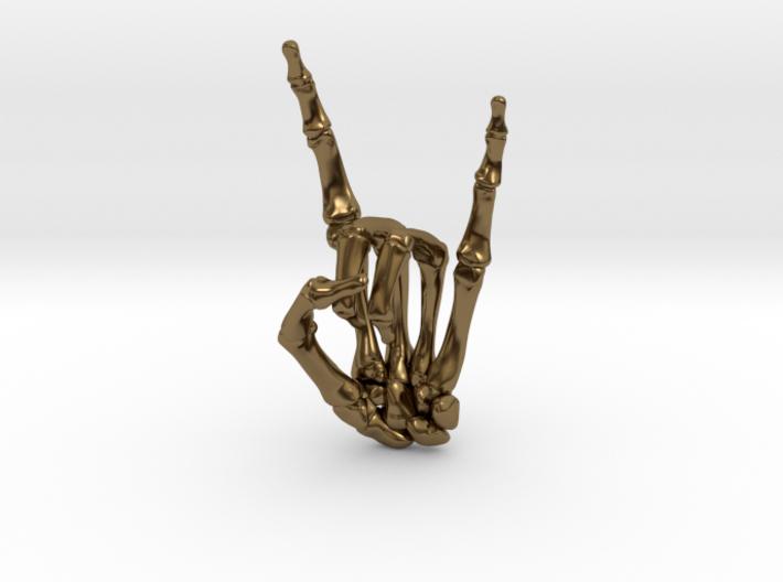 Devil Horns Left Hand 3d printed