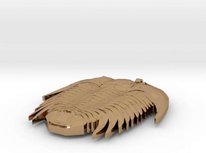 Trilobite Necklaces 3d printed