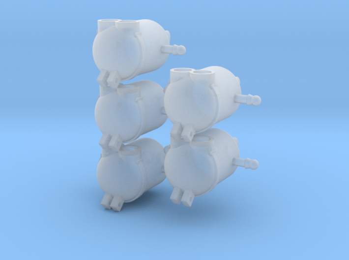 Minions Frontgewicht 5x 3d printed