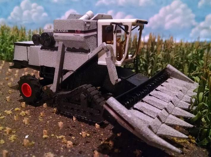 18 INCH 1/64 Combine Track Set 3d printed