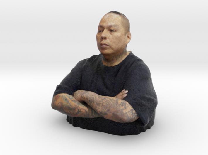 Boog - Heroes of Tattoo 150mm bust 3d printed