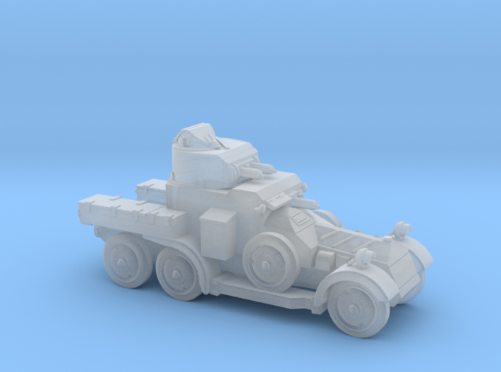 Lanchester MkII (6mm) 3d printed
