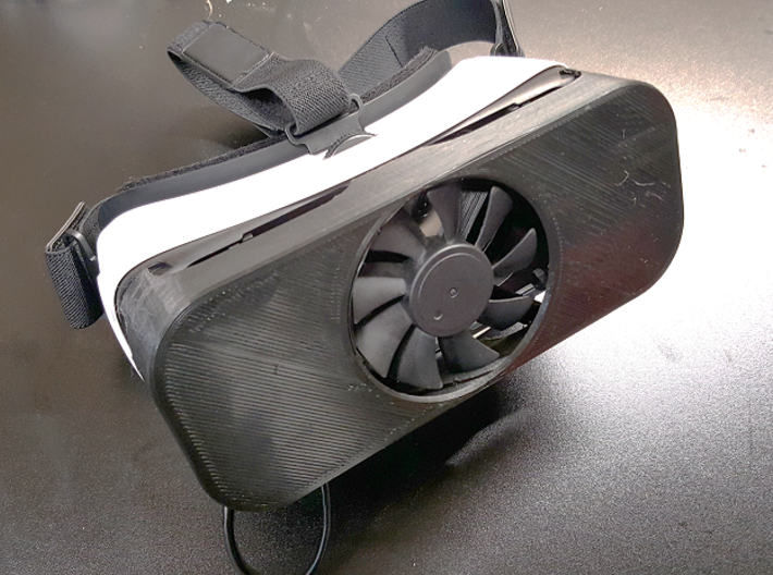 Samsung Gear VR Fan Cover 3d printed