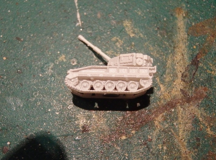 British FV 433 Abbot 105mm SPG 1/285 / 6mm 3d printed