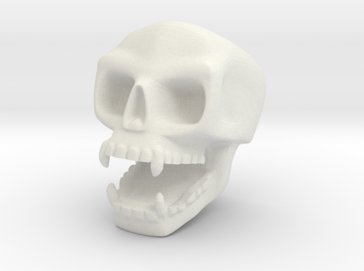 Small Wall-skull 3d printed