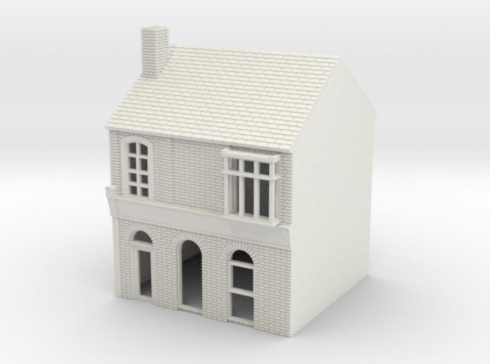 RHS-4 N Scale Rye High Street building 1:148 3d printed