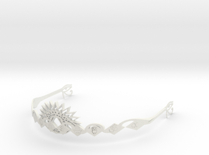 Ajna Crown Masculine 3d printed