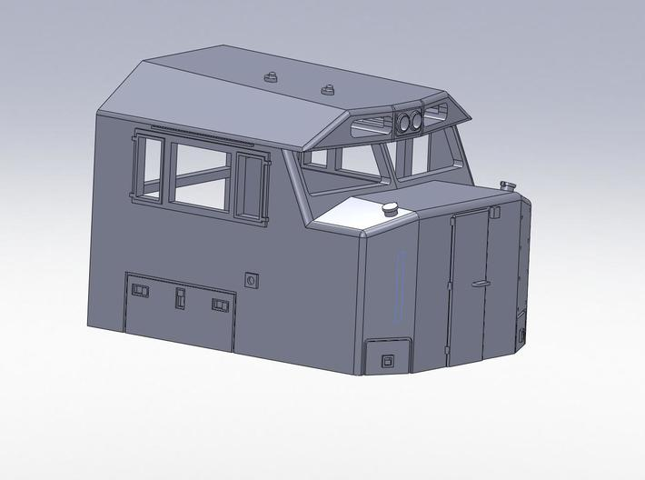 N scale NS 6900 Crescent Cab 3d printed