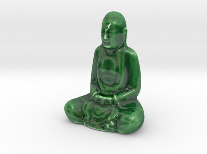 Porcelain Buddha 3d printed