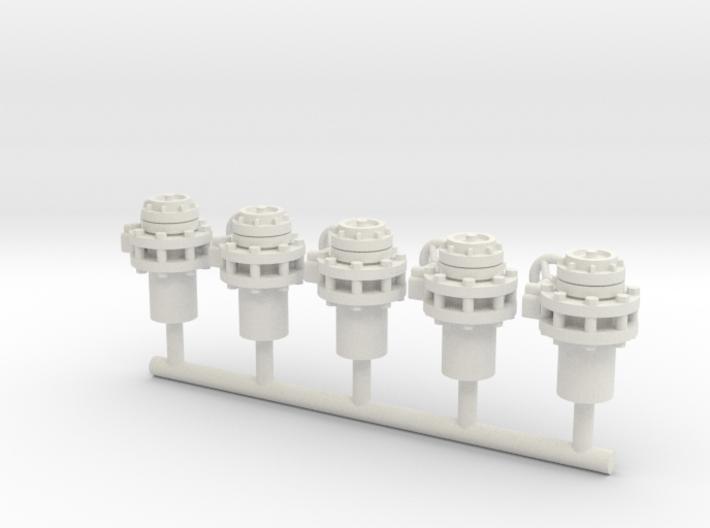 Storz Coupling FIFI (5pcs) 3d printed