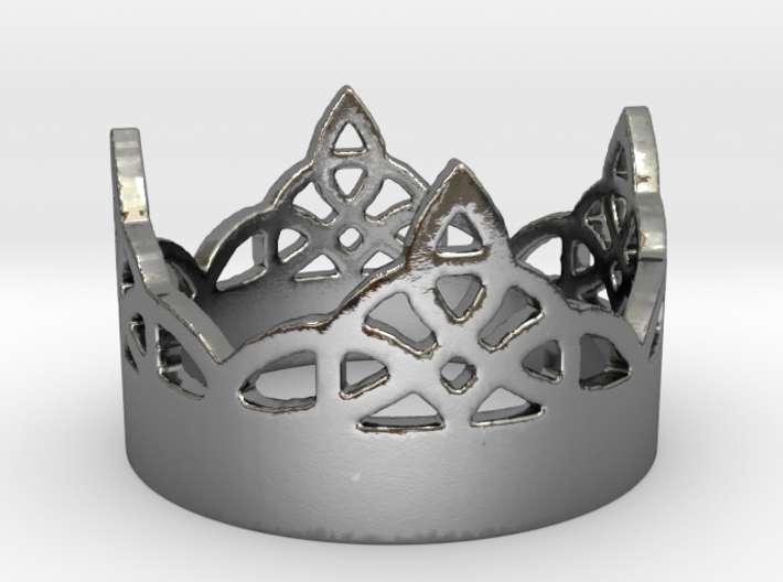Celtic Knot Ring 12.6 3d printed