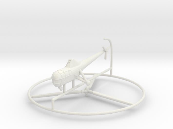 1/285 Sikorsky R-5 (H-5) 3d printed