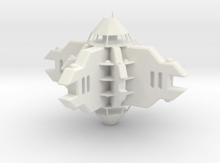 Space Station 3d printed