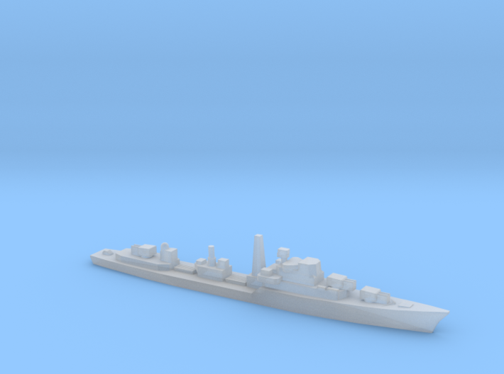 Daring-Class Destroyer, 1/3000 3d printed