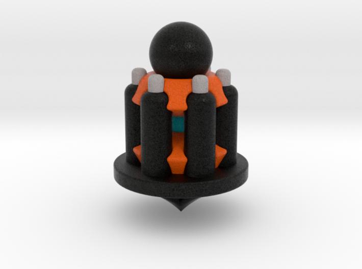 Galaxy Chess - Pawn Black 3d printed