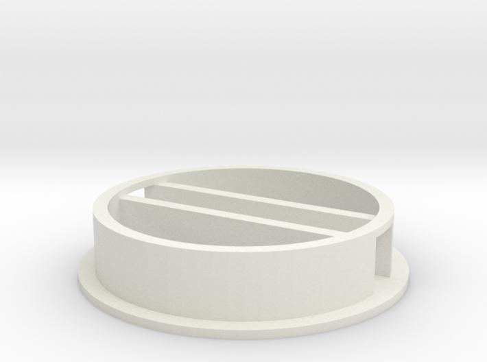 'N Scale' - 36' Grain Bin - Base w/ Conv. Tunnel 3d printed