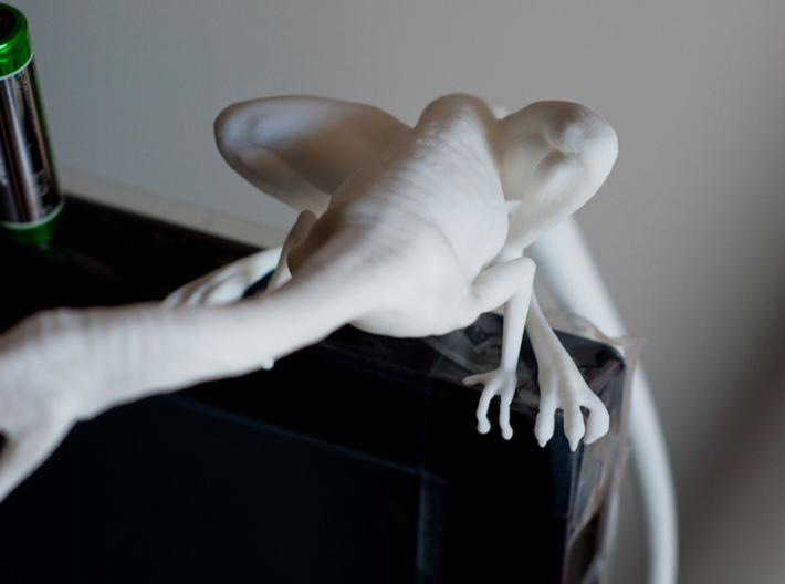 Compy dinosaur desktop figurine 3d printed Top detail
