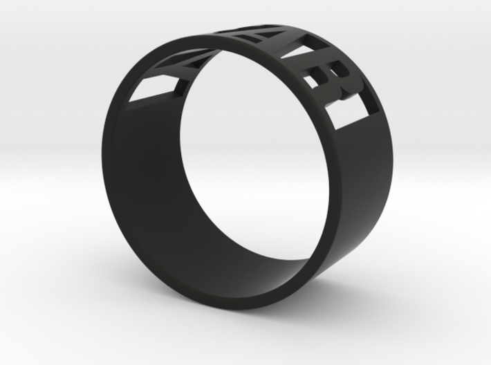 Year Ring 3d printed