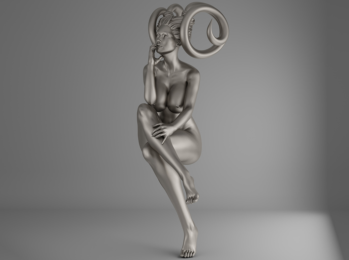 Evil Girl-Sexy Pose-008-25cm 3d printed