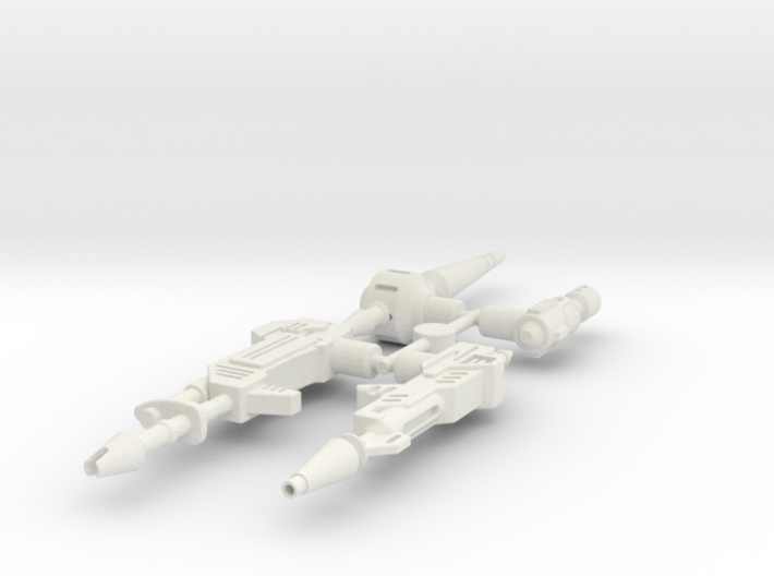 CW Weapon Pack 1 3d printed