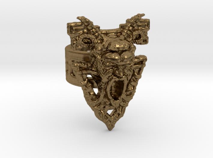 Gargoyle Ring 3d printed