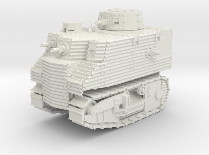 Bob Semple Tank (15mm) 3d printed