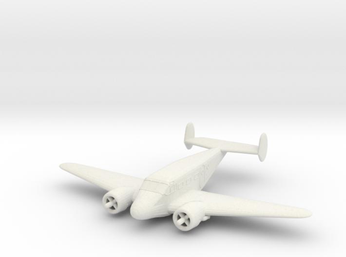 1/200 Beechcraft Model 18 3d printed