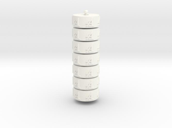 Argent Bases - Student (7 pcs) 3d printed