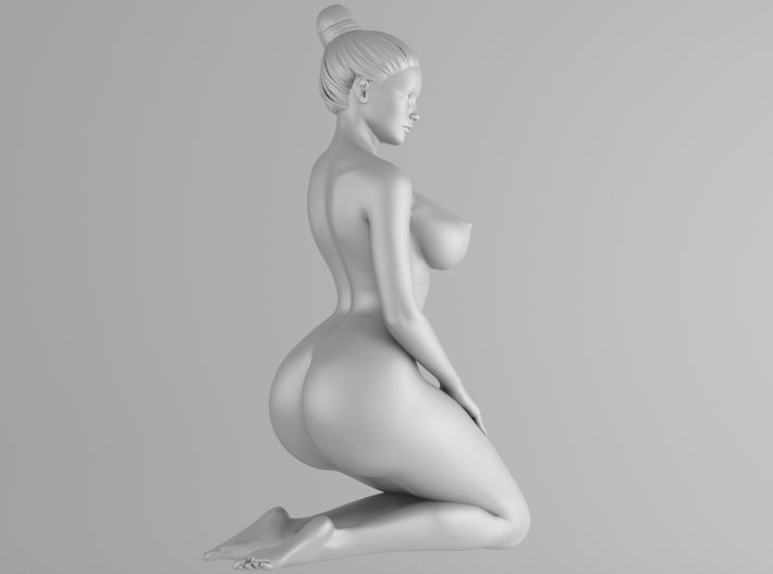Plump sexy girl 007 Scale in 1/10 3d printed