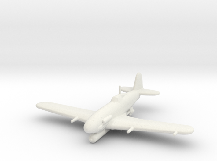 Fiat G.55/S 'Silurante' (with Torpedo) 3d printed