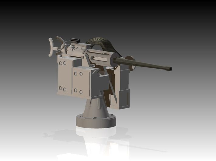 25mm Cannon kit x 1 - 1/20 3d printed