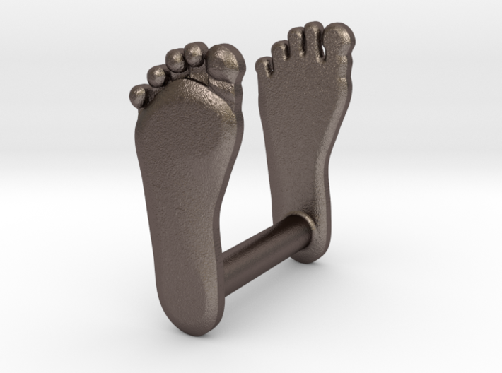 Footprint wax seal 3d printed