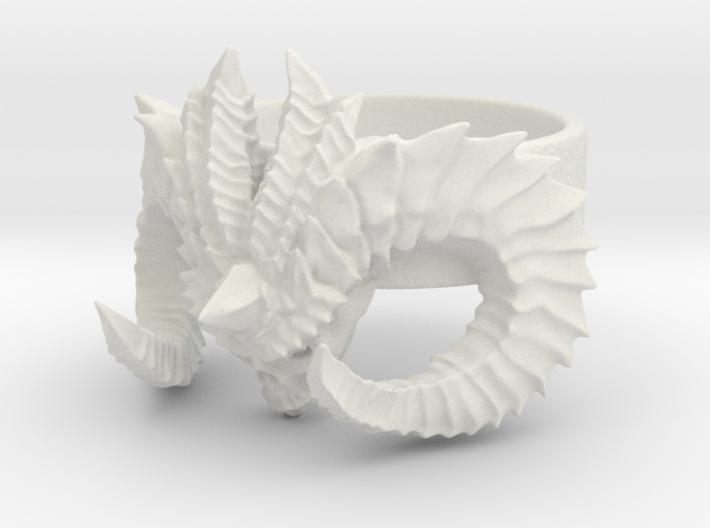 Diablo Ring Size 3 3d printed