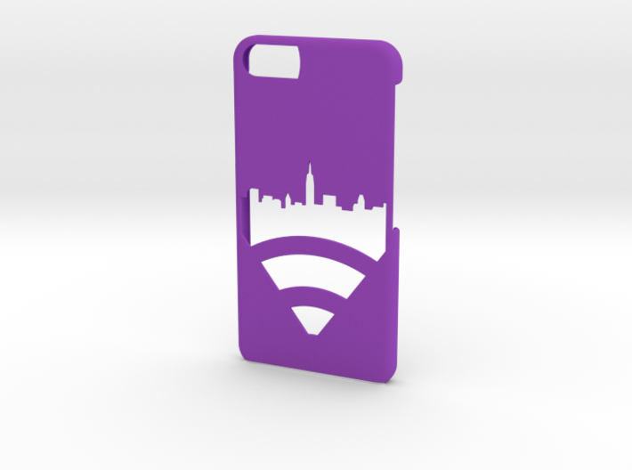 New York Skyline iPhone 6/6s Case 3d printed