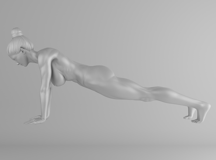 Fitness Girl 009 Scale 1/10 3d printed