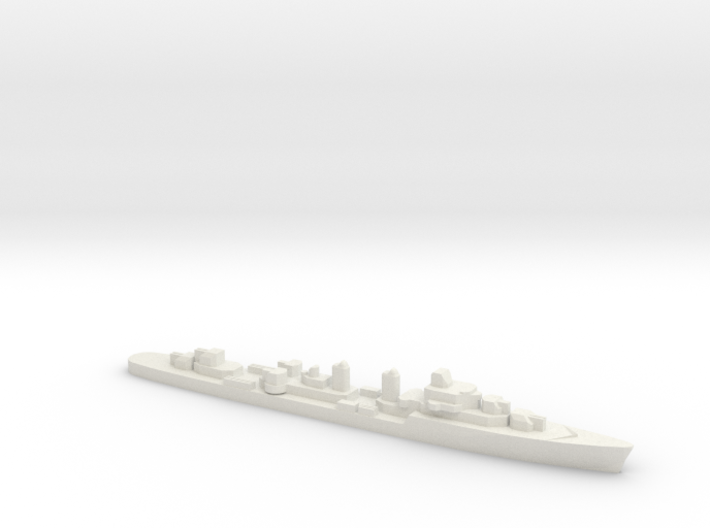 T47 Class Destroyer (1955), 1/3000 3d printed