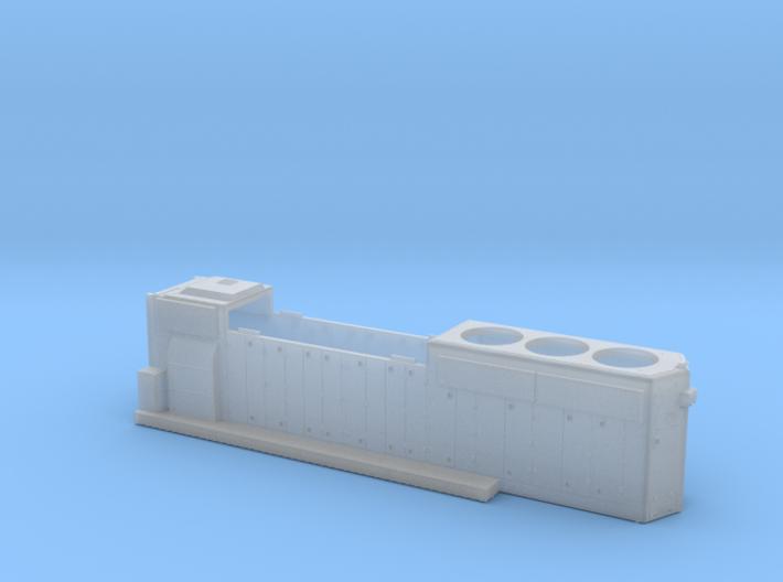CO4262-4281 GP40-2 HOOD 1/87.1 3d printed