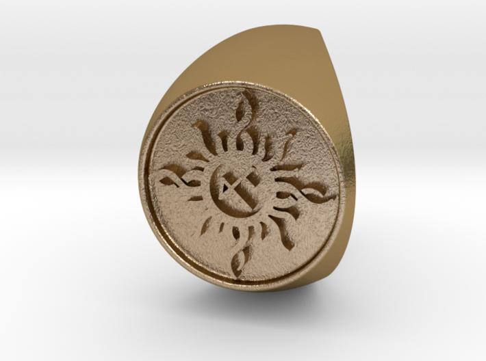 Custom Signet Ring 22 3d printed