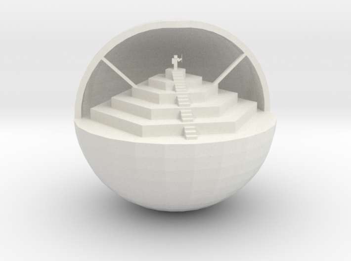Orb Of Society 3d printed