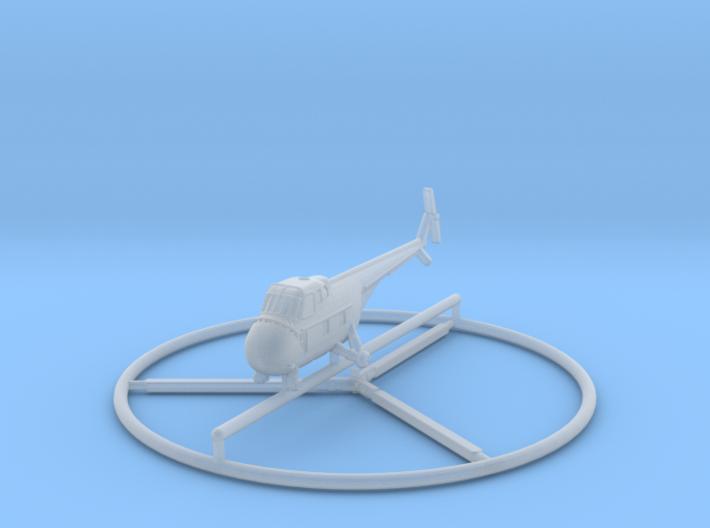 1/400 Sikorsky H-19 3d printed