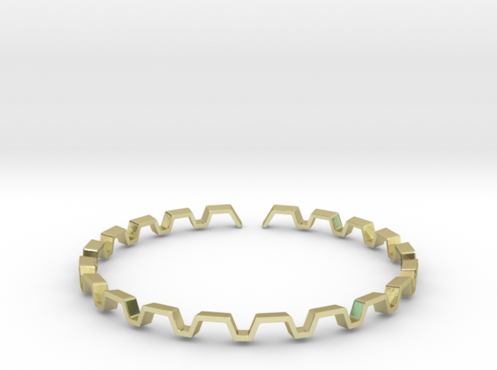 BETTER HALF Bracelet, Medium Size d=65mm 3d printed