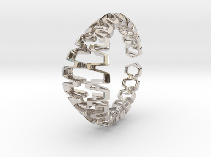 HD Bracelet, Medium Size, d=65. Strong, Bold, Uniq 3d printed