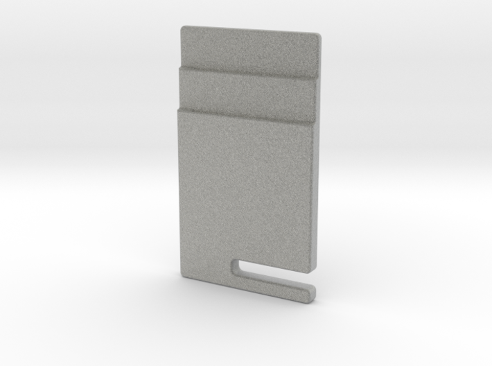 Card and Headphone Holder With Geometrical Design 3d printed