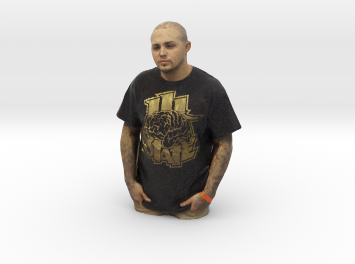 Tommy Ray Solis - Heroes of Tattoo 3d printed
